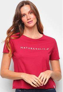 Camiseta Cantão Baby Look Natureholic Feminina - Feminino