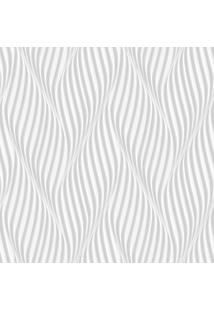 Papel De Parede Lymdecor Espiral Cinza