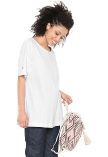 Camiseta Cantão Oversized Branca