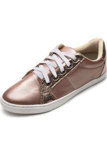Tênis Dafiti Shoes Metalizado Cobre