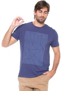Camiseta Aramis Vitral Azul