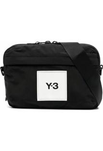 Y-3 Pochete Com Patch De Logo - Preto