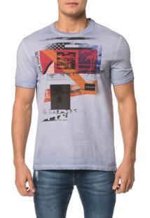 Camiseta Ckj Mc Est. New Vision Faixas - Pp