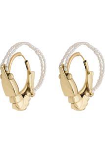 Ellery Shrimp Earrings - Dourado