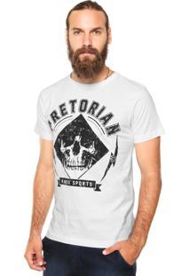 Camiseta Pretorian Skull Ii Branca