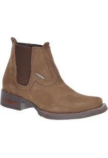 Bota Couro Fazenda Boots 23 Masculina - Masculino-Marrom