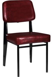 Cadeira Industrial Mkc-058-Marka Móveis - Vermelho