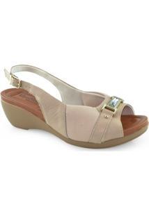 620173267 godiva calçados. Sandalia Anabela Joanetes Numeracao Especial Usaflex W0304