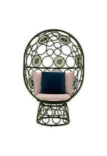 Cadeira De Corda Pina Verde Musgo