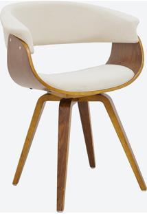 Cadeira Betina Linho Bege