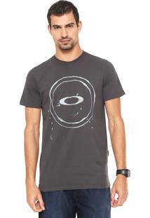 Camiseta Oakley Mod Elipse Tee Cinza