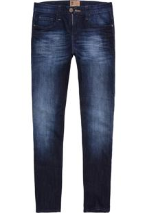 Calça Jeans West Coast St Fit Medium Wash Indigo Médio