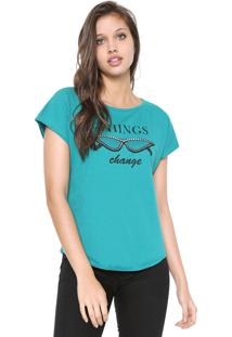Blusa Malwee Things Verde