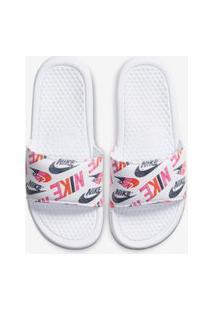 Chinelo Nike Benassi Jdi Floral Feminino