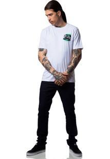 Camiseta Fallen Grunge - Masculino-Branco