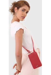 Bolsa Anacapri Porta Celular Rosa - Kanui