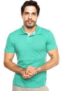 Camisa Polo Juice It Flame Sawa Verde