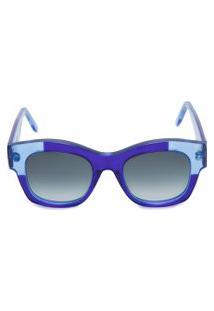 Óculos De Sol Feminino G58 - Azul