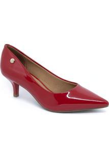 Sapato Scarpin Vizzano 1122.828 Verniz Vermelho