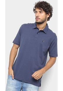 Camisa Polo Hang Loose Basic Masculina - Masculino-Marinho