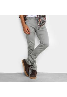 Calça Skinny Cavalera Color Elastano Masculina - Masculino