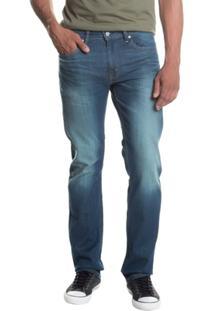 Calça Jeans 513 Slim Straight Levi'S - Masculino-Verde