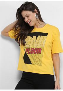 Camiseta Ellus 2Nd Floor 3D Feminina - Feminino