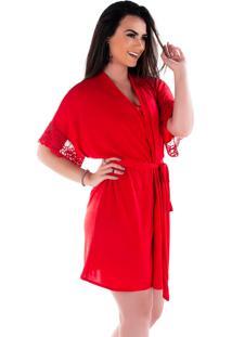 Robe Ayron Fitness Vermelho