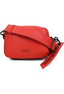 Bolsa Colcci Mini Bag Charm Feminina - Feminino-Vermelho