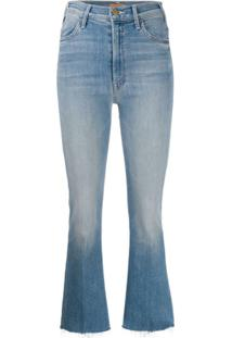 Mother High Rise Bootcut Jeans - Azul