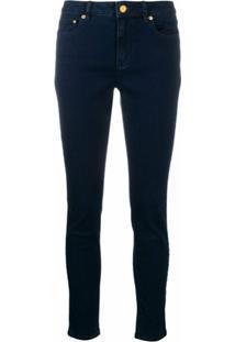 Michael Michael Kors Calça Jeans Skinny Cintura Média - Azul