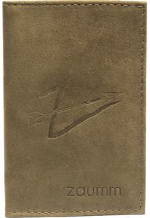 Carteira Zaumm Pocket - Verde Musgo