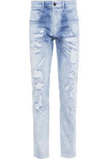 Calça Masculina Jeans Anbass Skinny - Azul