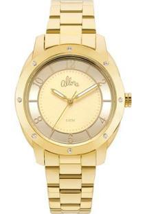 Relógio Allora Feminino Algodão Doce Al2036Ffr/4X Al2036Ffr/4X - Feminino-Dourado