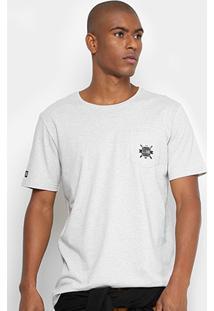 Camiseta Globe Básica Bolso Masculina - Masculino
