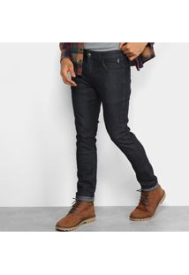 Calça Jeans Skinny Reserva Super Escura Masculina - Masculino