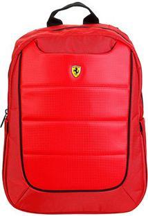 Mochila Ferrari Nova Escuderia - Unissex-Vermelho