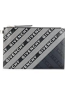 Givenchy Clutch Com Logo - Preto