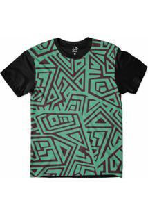Camiseta Long Beach Arabescos Tiki 3 Sublimada Masculina - Masculino
