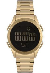 Relógio Technos Digital Bj3361Ab/4P Feminino - Feminino-Dourado