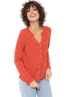 Camisa Hering Texturizada Laranja