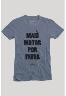 Camiseta Reserva Mais Motor Masculina - Masculino-Marinho