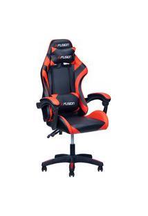 Cadeira Gamer X Fusion C.123 Preto/Vermelho