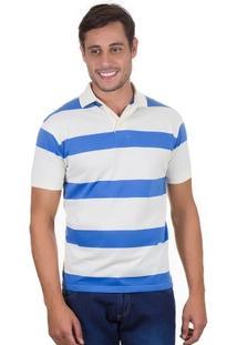 Camisa Colombo Polo Listrada - Masculino