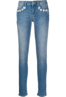 Liu Jo Slim Faded Jeans - Azul