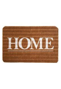 Capacho Carpet Home Marrom Único Love Decor