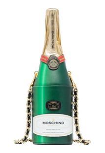 Moschino Bolsa Transversal Champagne - Verde