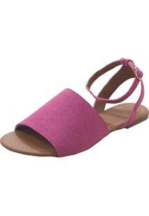 Sandália Maisapato Avarca Pink