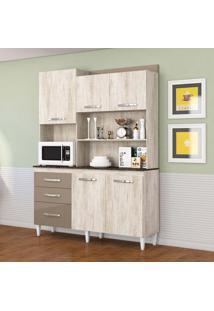Cozinha Compacta Mila 5 Pt 3 Gv Essence E Brown