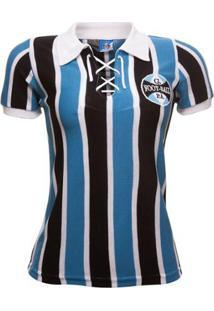 Camisa Retrô Grêmio 1929 Feminina - Feminino